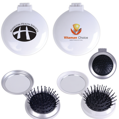 Picture of Compact Pop Up Brush / Mirror Set