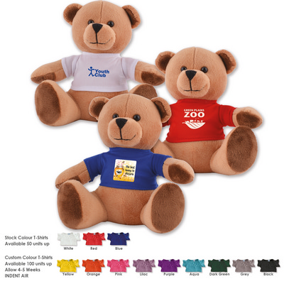 Picture of Honey Plush Teddy Bear