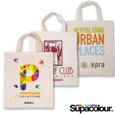 Picture of Calico Double Short Handle Tote Bag - 140GSM