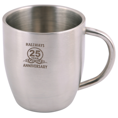 Picture of Stainless Steel Double Wall Curved Mug