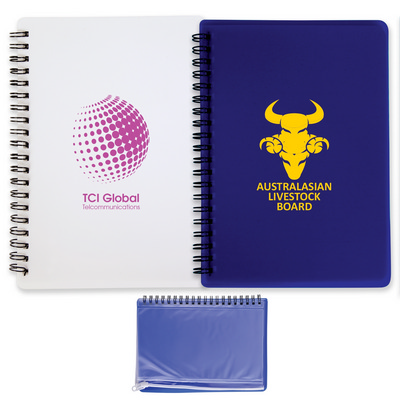 Picture of Quest Notepad with PVC Stationery Pouch