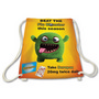 Cotton Drawstring Bag with Full Colour