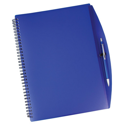 Picture of Spiral notebook and pen