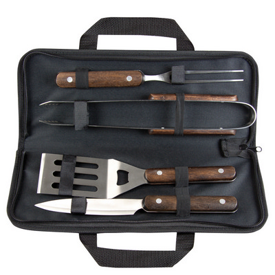 Picture of Wooden BBQ tool set