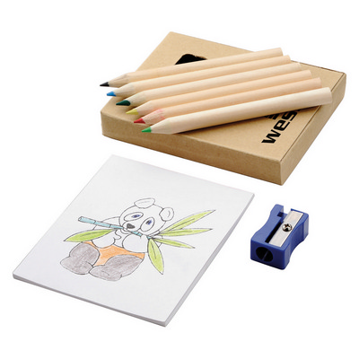 Picture of Boxed colouring set