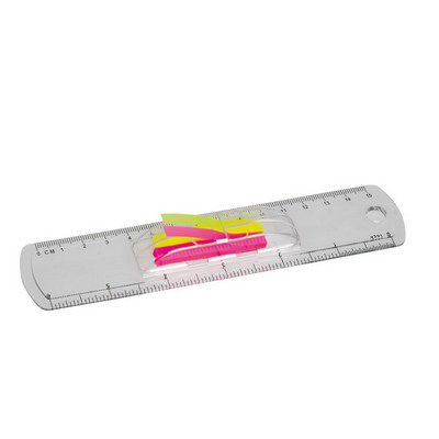 Picture of 15cm ruler with flags