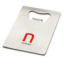 Stainless steel credit card bottle openerCredit card size bottle opener ideal siz