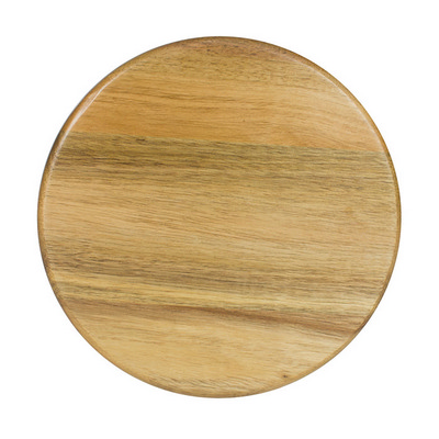 Picture of PETITE ROUND CHEESE BOARD - WOODEN