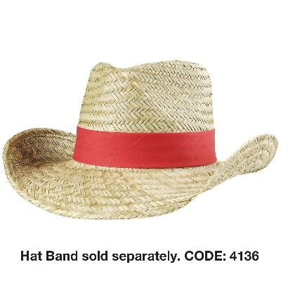 Picture of Cowboy Straw Hat