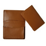 Premium Tan Leather Card Holder