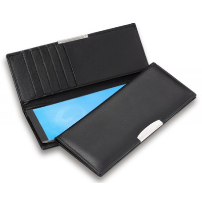 Picture of Premium Leather Cheque Book Wallet with