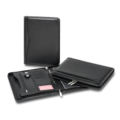 Picture of Premium Leather Zip Compendium