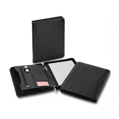 Picture of Superior Leather Zip Compendium