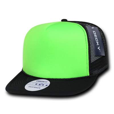 Picture of Flat Bill Neon Trucker Cap