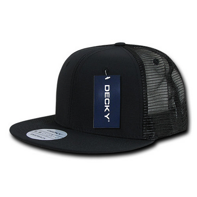 Picture of Ripstop Flat Bill Trucker Cap