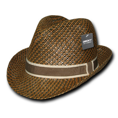 Picture of Paper Braid Woven Fedora