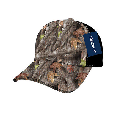 Picture of Camo Curve Bill Baseball Cap
