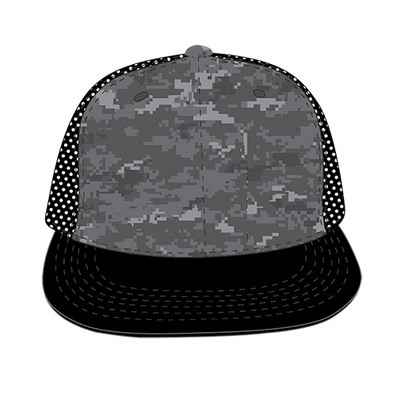 Picture of Camo Flat Bill Trucker