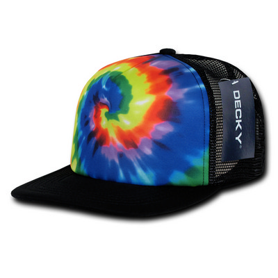 Picture of Tie Dye Print Trucker Cap