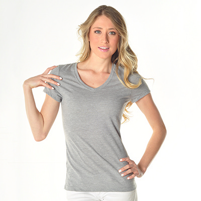 Picture of WOMEN'S S/S V-NECK TEE