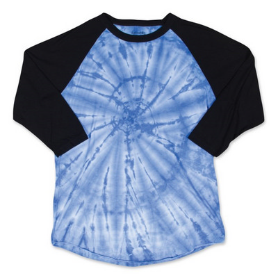 Picture of 3/4 SLEEVE TIE DYED T-SHIRT