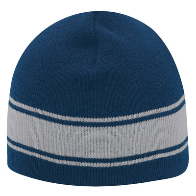 "Picture of 8"" Beanie With Stripes"