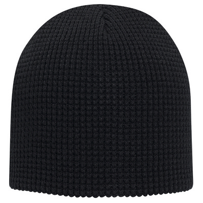 """Picture of 8"""" Waffle Knit Beanie"""