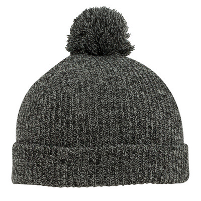 "Picture of 9 1/2"" Pom-Pom Beanie"