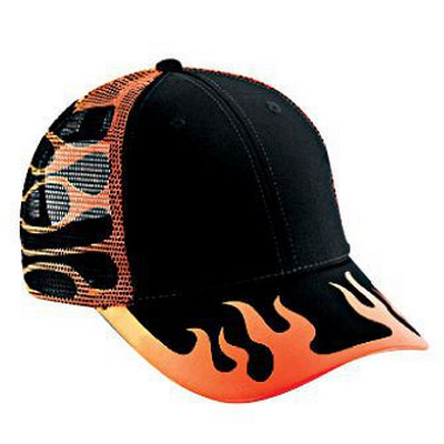 Picture of Six Panel Low Profile Style Mesh Back CapOtto Headwear