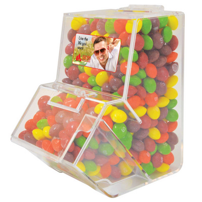 Picture of Assorted Fruit Skittles in Dispenser