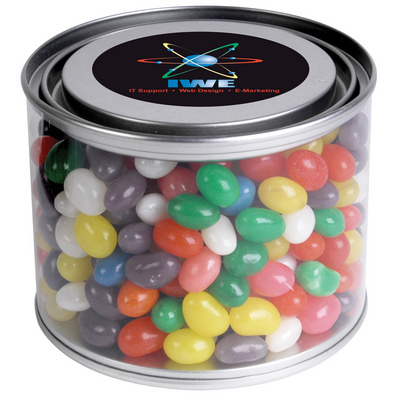 Picture of Assorted Colour Mini Jelly Beans in 500mlDrum