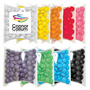 Corporate Colour Choc Buttons  in Pillow