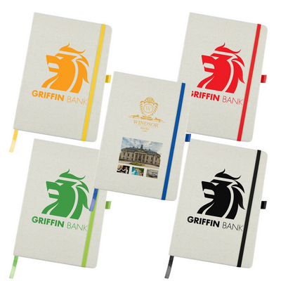 Picture of Civic A5 Linen Notebook with Elastic