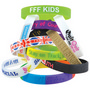 12mm Wide Silicone Wrist Band