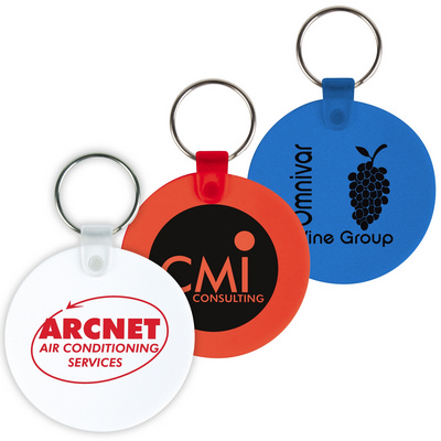 Picture of Round Flexible PVC Keytags