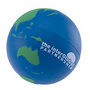 Stress Earth Ball, Blue Green