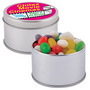 Assorted Colour Mini Jelly Beans in Silv