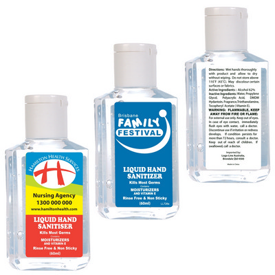 Picture of 60ml Gel Hand Sanitiser