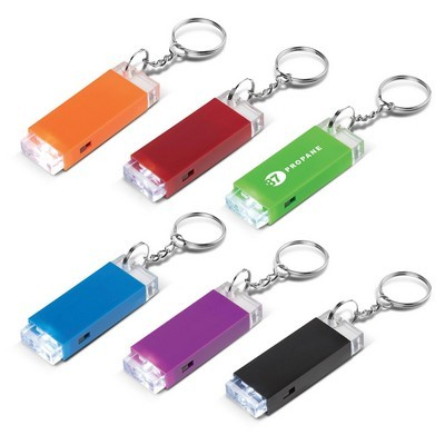 Picture of Crystal Block LED Key Chain