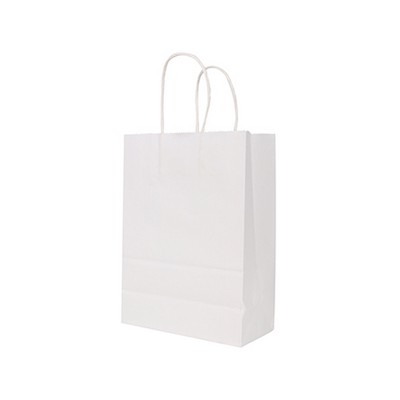 Picture of Twisted Handle Kraft Paper Bag (160x220x