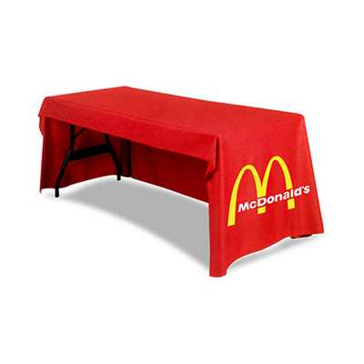 Picture of 3-Sided Fitted Table Cover *4ft