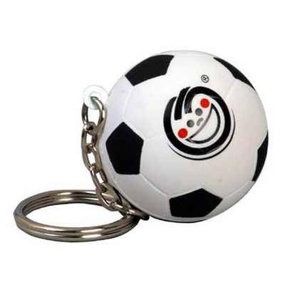 Picture of Football With Keyring Stress Item