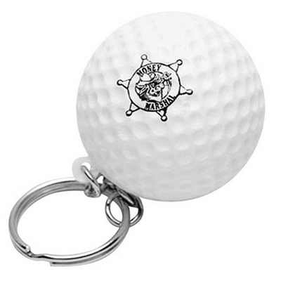 Picture of Golf With Keyring Stress Item
