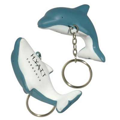 Picture of Dolphin With Keyring Stress Item