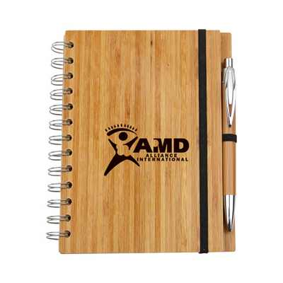 Picture of Eco Bamboo Notebook