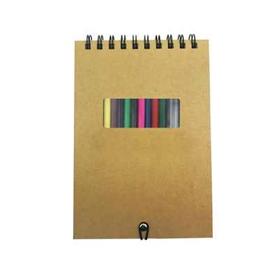 Picture of Notebook With Colorful Pencil