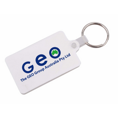 Picture of Rectangular Durasoft Keyring