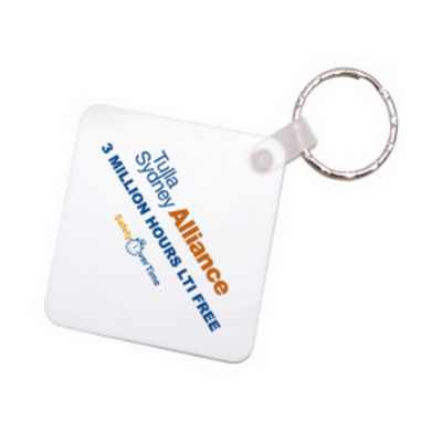 Picture of Square Durasoft Keyring