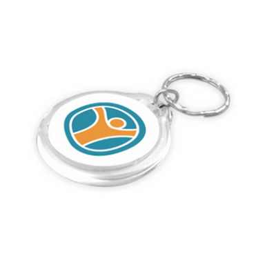 Picture of Round Acrylic Keyring