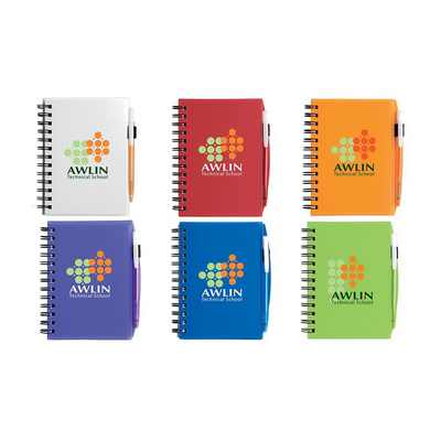 Picture of BIC Plastic Cover Notebook - Small